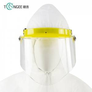 High quality custom heat resistance face shield PVC face mask