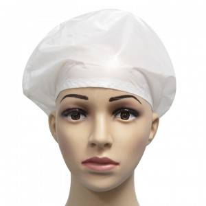 Disposable surgical cap antistatic cleanroom work hat pattern free