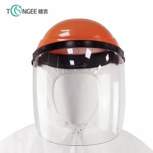 Ppe Protection Against Uv Plastic Face Shield Mask