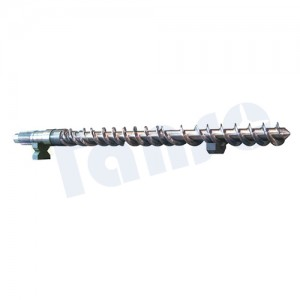 Cheap price China Nitrided 38crmoala Extruder Screw Barrel Plastic Manchinery Ues PP/PE/Recycled PVC/