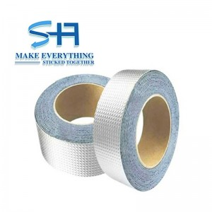 waterproof aluminum foil butyl rubber roofing tape