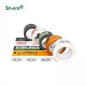 logo printed bopp packing tape