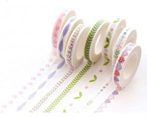 Printed Washi Masking Tape