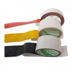 Black Embroidered Double Sided Tape