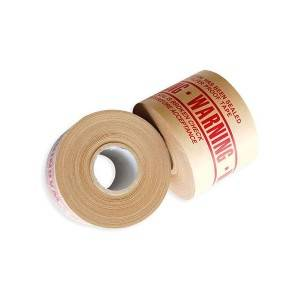 Water activated reinforced printed Kraft Paper Tape