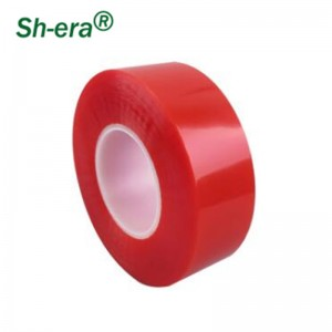 Red film PET double-sided tape