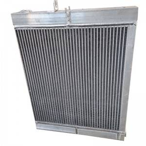 Customized Combi Aluminum Bar plate fin oil cooler