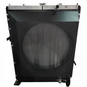 Combi Aluminum Bar plate fin oil cooler