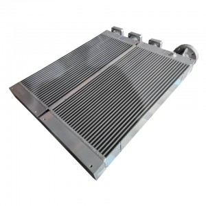 Cooler  – Oil cooler  — Industrial Aluminum Plate And Bar Hydraulic Oil Cooler for Excavator and Other Construction Machinery Piston Compresso