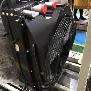 Copper 5 ton loader compound radiator assembly 162kw