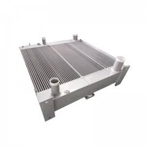 China Wholesale Engine Oil Cooler Kit Pricelist - Aluminum Brazing Bar Plate-Fin Oil Cooler – TECFREE