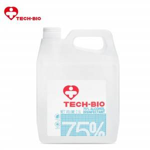 2.5L 75% Alcohol Disinfectant TECH-BIO