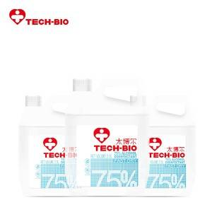 High Quality for Homemade Disinfectant Spray -  2.5L 75% Alcohol Disinfectant TECH-BIO – Zhongrong
