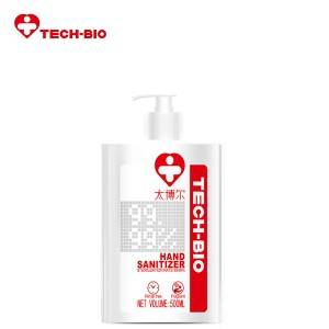 Factory source Moisturizing Hand Sanitizer Lotion - 500ml Moisture Hand Sanitizer TECH-BIO – Zhongrong