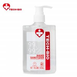 Wholesale TECH-BIO Hand Sanitizer Moisture 500 ML Supplier