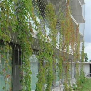 Stainless steel green wall mesh