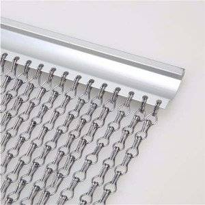 Aluminum chain hook mesh