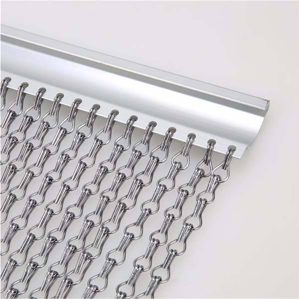 China Cheap price Chain Hook Screen - Aluminum chain hook mesh – Gepair