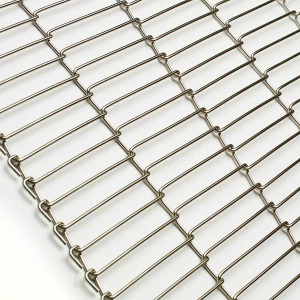 High Quality for Steel Divider Walls - Z shaped stainless steel flat flex wire mesh conveyor belt – Gepair