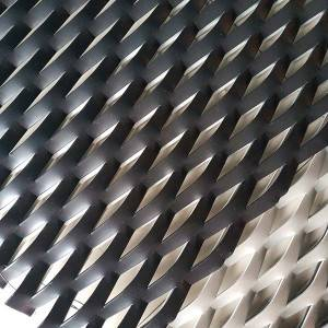 High definition Expanded Aluminium - Aluminum expanded metal mesh – Gepair