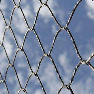 China OEM Stainless Steel Net – Flexible stainless steel cable woven mesh (Inter-woven type) – Gepair