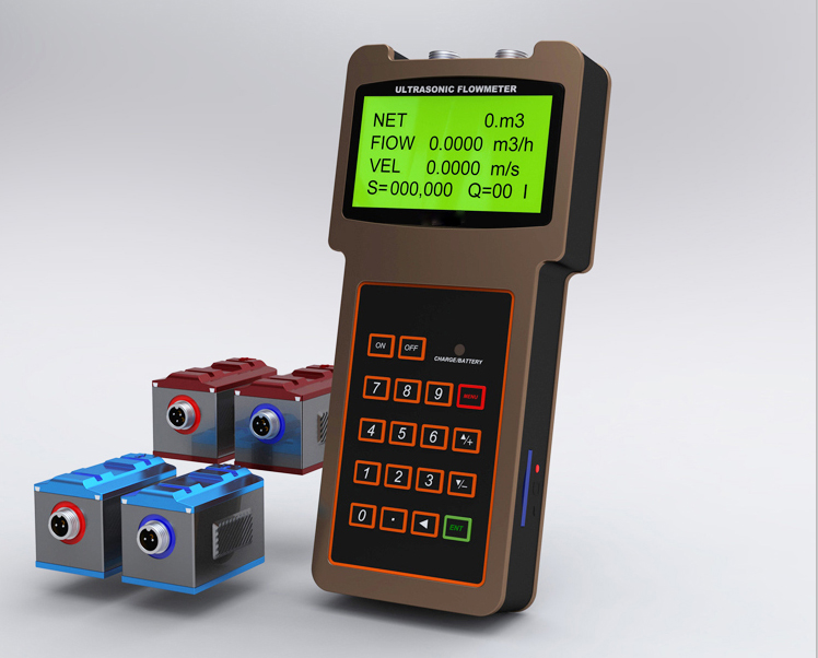Clamp on Portable ultrasonic Flow Meter TUF-2000H Featured Image