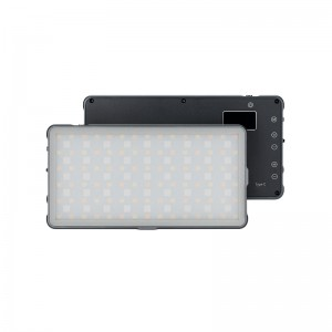 RGB Pocket Light TC135A-RGB Camera Light Mini LED Video Light Panel Fill Light