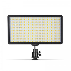 Best Price for Rgb Led Panel Light – TL416 LED Fill Light with Soft Diffuser Portable Photography Lamp – TEYELEEC