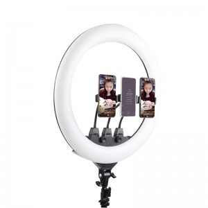 TR22 Ring Light 22 inch 55cm 18 LED Dimmable Video Ring Light