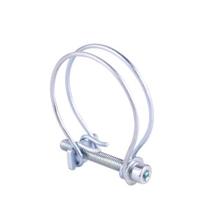 Popular Design for Metal U Clamps - France Double Wire Hose Clamp – TheOne