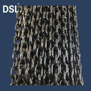 High Temperature Quenched, In Accordance With En818-2 Standard G80 Crane Chain for mining plant