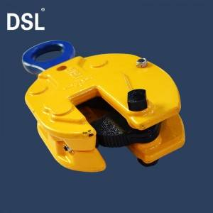 Factory wholesale Tool i Beam Clamp Hangers - CDH Type 10 Ton Steel Plate Vertical Lifting Clamps – Shenli Rigging