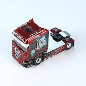 WATER TRANSFORM DECAL  DIECAST TRUCK MODEL
