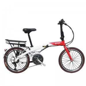 20 INCH FOLDING E BICYCLE E BIKES