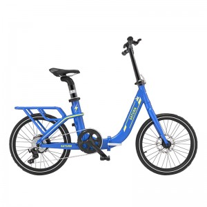 20INCH FOLDING E BIKE HIDDEN BATTERY ELECTRIC