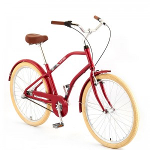 26INCH STEEL FRAME BEACH CRUISER BICYCLE