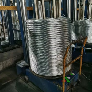 Factory wholesale Aluminium Clad Steel Wire - GALFAN WIRE ZN-AL 5%-10% – Meijiahua