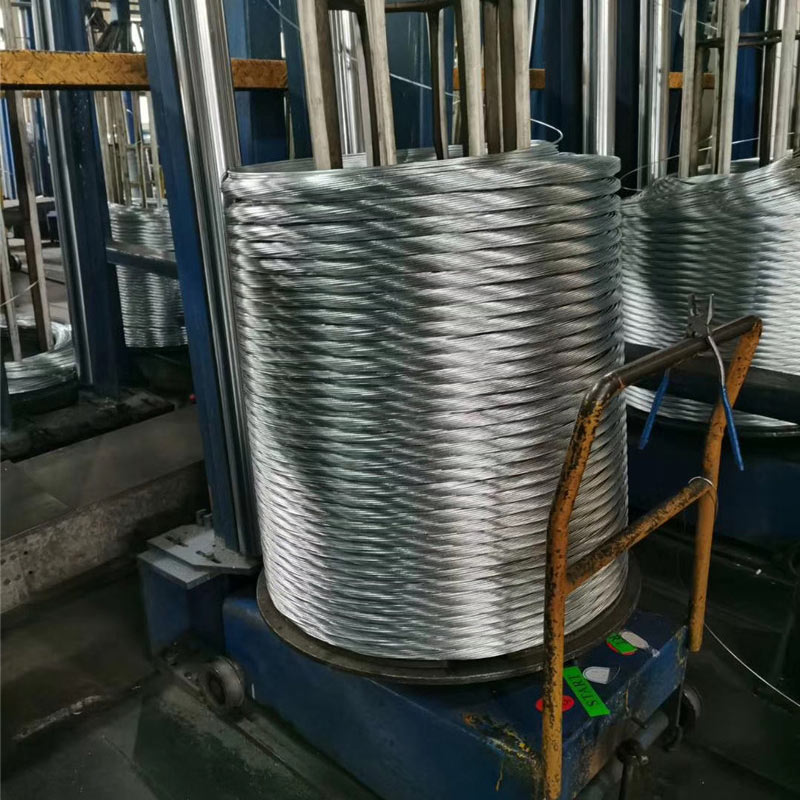 Good Wholesale Vendors Redrawn wire - GALFAN WIRE ZN-AL 5%-10% – Meijiahua