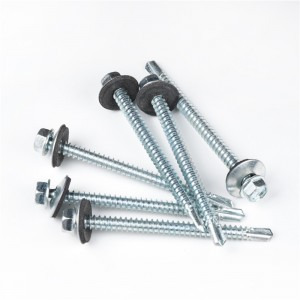 Hex Head Flange Head/Roofing Head Self Drilling/Self Tapping Screws with Washers