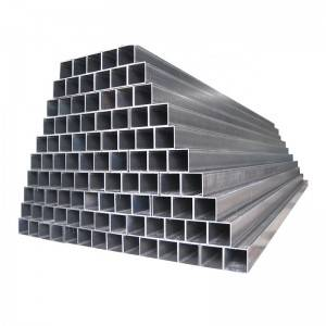 New Arrival China Steel Pipe for Solar Tracking System - Square pipe for Solar Tracking System – Rainbow