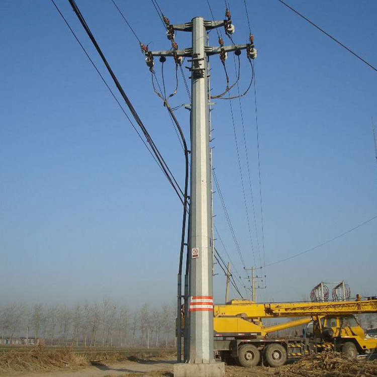 2019 wholesale price Communication Tower - Power Transmission Pole – Rainbow