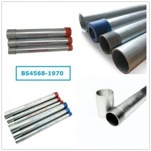 Steel Conduit Pipe BS4568-1970 Conduit
