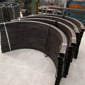 Precision Process on Steel-Bending square pipe