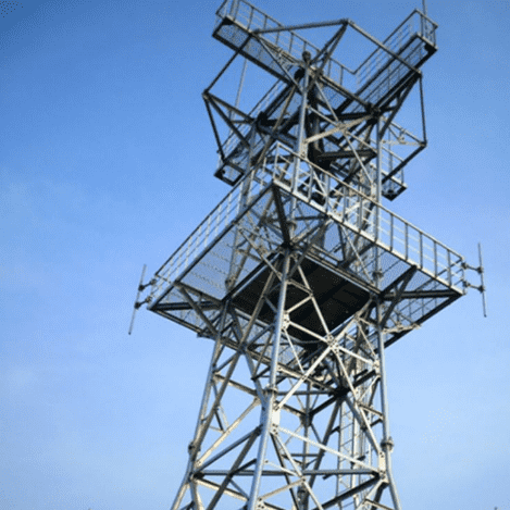 Galvanized Steel Electric Tower - Angle Steel Tower – Rainbow