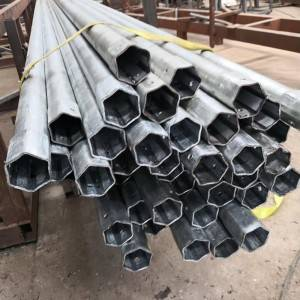 Precision Process on Steel-Hexagonal pipe