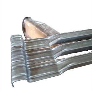 Galvanized tubing used for Intermediate bulk container steel frame