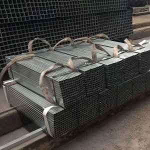 Galvanized Steel Pipe for IBC - Steel Square Pipe Cut to Length – Rainbow