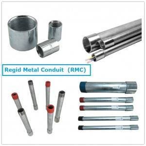 China wholesale Rmc Conduit - Electrical Gi Conduit Pipes RMC – Rainbow