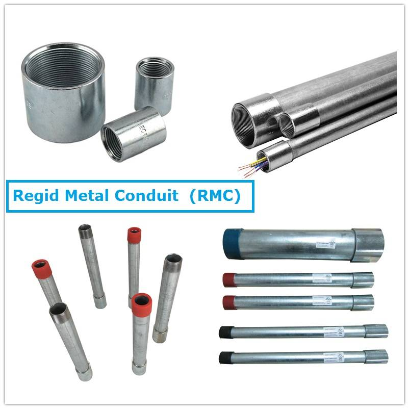 China wholesale Rmc Conduit - Electrical Gi Conduit Pipes RMC – Rainbow Featured Image