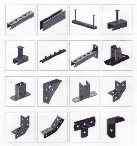 2019 wholesale price Purlin Bracket - Precision Process on Steel- Solar Mounting system parts – Rainbow